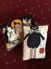 Halloween mini cushions/bowl fillers cat ghosts hand crafted bespoke