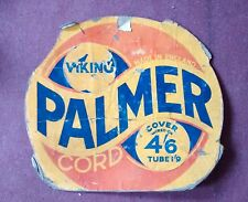 rare   vintage VIKING PALMER  bicycle tyre  sign