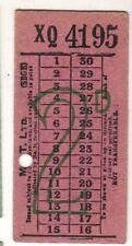 Bus/Tram ticket 2d MET Ltd Stonebridge Depot
