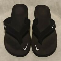 Nike Women's Celso Thong Flip Flop Sandals ~ Black & White US Size 11