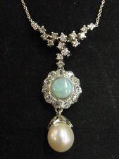 Collane e pendagli con diamanti collier