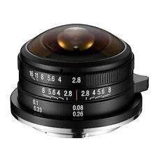 Laowa 4mm F/2.8 Zero-D Circular Fisheye Lens (M4/3) *NEW*