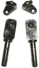 CERNIERE NERO/titolari di vetro per VW T25 APERTURA DEFLETTORE CORNICI 4pcs C9043