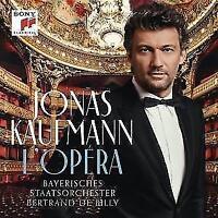 JONAS KAUFMANN L´Opera  Ludovic Tezier,Sonya Yoncheva (2017) CD   NEU & OVP
