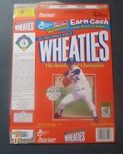 Nolan Ryan--Texas Rangers--1998 Wheaties Cereal Box