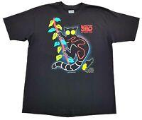 Vintage Susan Costello Lemur 1989 Tee Black Size XL Mens Single Stitch T Shirt
