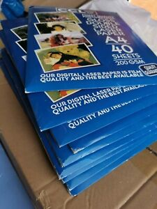 A4 Laser Photo Paper Double Sided Gloss Coated for Printing Images 360 sheets