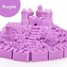 DIY Kid Child Kinetic Magic Sand Indoor Safety Toy Craft Non Toxic Rainbow Color