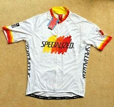 Specialized Short Sleeve Cycle Road Jersey White XXLarge NEW