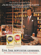 IDEE KAFFEE CAFE DARBOVEN - PUBLICITE PRESSE ADVERT 1992 - COUPURE MAGAZINE