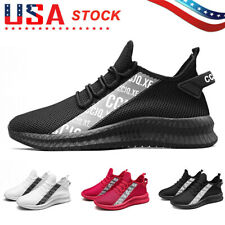 New listing Men's Sneakers Breathable Walking Running Gym Casual Tennis Comfort Sport Shoes