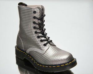 Dr. Martens 1460 Pascal Silver Studded Leather Women's Casual Lifestyle Shoes