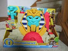 Fisher Price Imaginext Serpent Strike Pyramid Egyption Mummy Snake Power Pad NIB