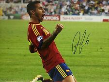 T Signed European Player/Club Football Photos