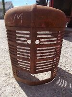 Farmall H HV Early SH tractor straight Original Factory IH front nose cone grill