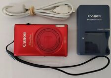 Canon PowerShot ELPH 300 HS 12.1 MP Digital Camera Mint + Charger & 8GB SD Card