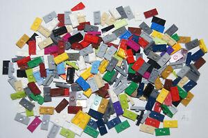 LEGO 246 1x2 Plates with STUDS in centre Bricks / Blocks # 3794 (A2) GENUINE