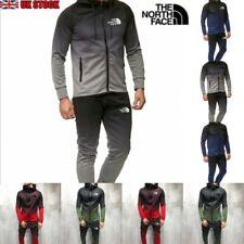 The North Face Mens Tracksuits Set Gradient Colour Zip Coat Hoodie Jogging
