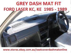 DASH MAT, DASHMAT,DASHBOARD COVER FIT  FORD LASER KC,KE  1985-1989, GREY