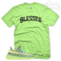 """New """"BW BLESSED"""" T Shirt for Adidas Yeezy Boost 350 YeezReel Non Reflective Glow"""