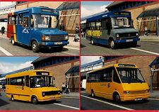 4 Photos ~ County Bus of Stafford - Minibuses: Transit Dodge Sherpa MCW - 1998