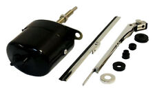 Wiper Motor Kit 12V Black Universal  Jeep Willys CJ3B  CJ5 CJ6 Crown 12V