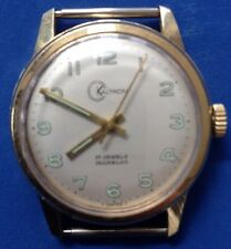 VTG 70'S KALTRON 17 JEWELS INCABLOC WATCH (NO BAND) WORKS GREAT!