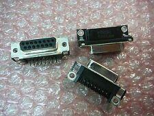 AMP 745782-4 D-Sub Connector Receptacle R/A 15-Pos  ** 3/PKG **