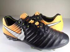 Nike Tiempo Legend VII FG Laser Orange Black Soccer Cleats SZ 7.5 (897752-008)