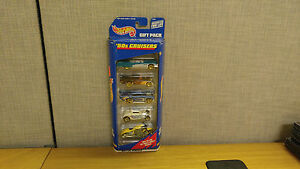 Mattel Hot Wheels 50s Cruisers Gift Pack, 5 Cars, Brand New!