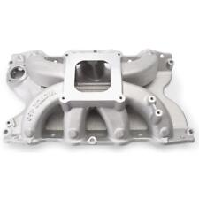 Edelbrock Intake Manifold 2966; Victor Satin Aluminum for Ford 429/460 BBF