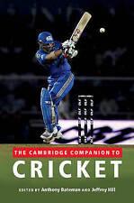 The Cambridge Companion to Cricket,,New Book mon0000028181