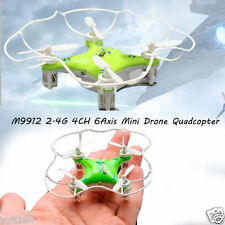 M9912 2.4G 4CH 6Axis Mini WIFI Drone Green Quadcopter Gyro+USB Charger+4X Fans