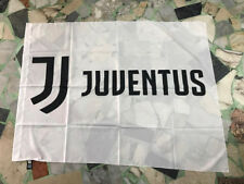 1 BANDIERA JUVENTUS UFFCIALE 140x100 OFFICIAL FLAG NUOVO LOGO 2018 BIANCA DYBALA