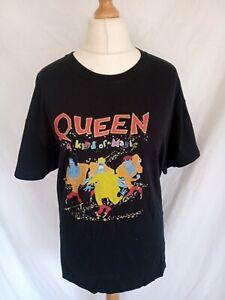 QUEEN A KIND OF MAGIC 1986 T SHIRT TOUR BACK PRINT XL