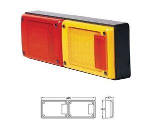 1xPce 3-in-1 LED Combo Jumbo Light - like Hella - Narva - Whitevision - Perei