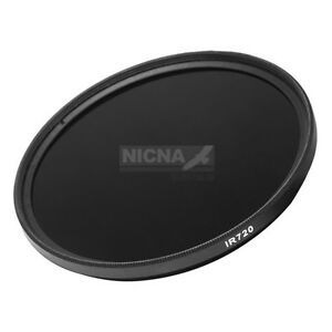 55mm 720nm Infrared Infra-red  Pass X-Ray IR Lens Filter Optical Glass 55 mm
