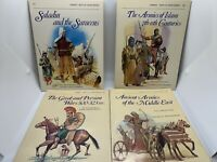 4 Osprey Men At Arms SC Books: Ancient Armies of Middle East, Saladin, MORE