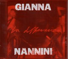 GIANNA NANNINI - La differenza (2019) CD