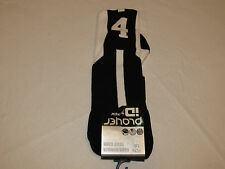 Player ID by TCK PCN LG # 4 TWI 1 sock black white vollyball basketball soccer