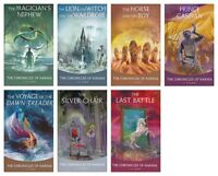 NEW The Chronicles of Narnia C.S Lewis Boxed Set of 7 Paperback 1 2 3 4 5 6 Book