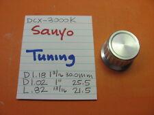 SANYO TUNING KNOB DCX-3000K QUAD STEREO RECEIVER