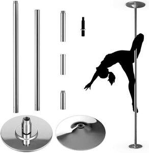 Pole Dance Barra de Baile Giratoria de 45 mm de Acero Inoxidable Profesional