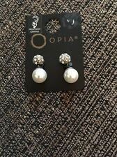 Opia Ladies Front/back Earrings