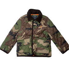 Polo Ralph Lauren Toddler Boys Camouflage Quilted Jacket Coat 3T Lightweight