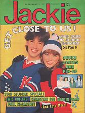 Jackie Magazine 31 January 1981 No. 891  Status Quo  Charlene Tilton Bow Wow Wow