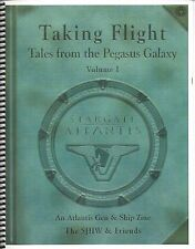 "Stargate Atlantis Gen & Ship Fanzine: ""Taking Flight #1 #2"" 2006"