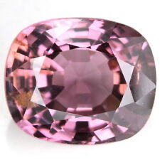 8.6 X 7.2 X 4.4 MM. CUSHION AAA  PINK SPINEL NATURAL GEMS 2.15 CT. UNHEATED