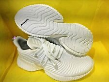 NEW MEN'S Adidas Alphabounce Instinct  Running/CASUAL  Shoes - White  SIZE   7.5