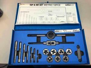 Sutton M551 M18 18 piece Metric Tap & Button Die Set